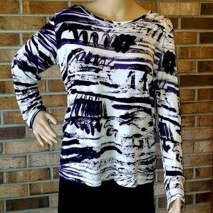 Vera Wang Long Sleeve Top size XL